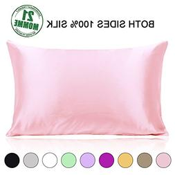 Ravmix 100% Mulberry Silk Pillowcase Queen Size Both Sides 2