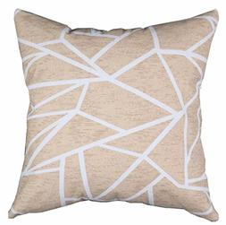 Multi-sized Both Sides Geometric Lines Printing Cushion Cove