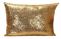 Multi-size Glitter Sequin Throw Pillow Cover Sham Case Liveb