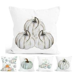 NEU Fall Halloween Pumpkin Pillow Case Waist Throw GIFT Sofa