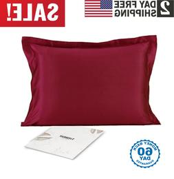 New 100% Mulberry Silk Pillowcase for Hair and Skin Health,