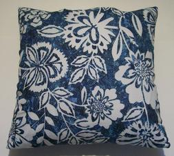 NEW 18 x 18 inches Blue Pillow Case Home Sofa Decorative ind