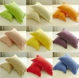 New 30 Pillow Color's Available 100% Cotton  Pillow Cases 60