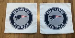 "NEW ENGLAND PATRIOTS 16"" Pillow Case Cover NFL Brady Belichi"