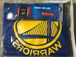 NEW GOLDEN STATE WARRIORS NBA Pillow Sham pillowcase LARGE M