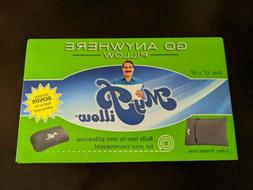 NEW! My Pillow TRAVEL PILLOW And CASE Roll N Go - Go Anywher