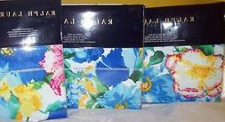 NIP Ralph Lauren ASHLYN Floral Queen Sheet Fitted Flat Pillo