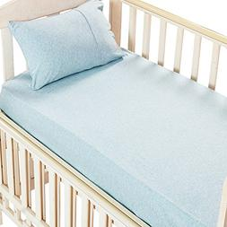 100% Organic Cotton 2 Piece Bedding Set with 1 Toddler Deep