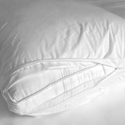LIVING FRESH ORGANIC Pillow Protector - Waterproof Eucalyptu