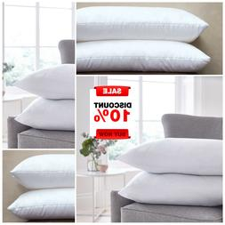 Pack of 2 Pillow Pair Hollow Fiber Comfortable Hotel Quality