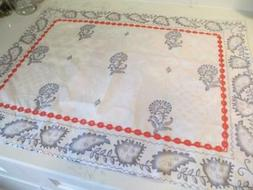 PAIR Embroidered New Pillow CASE SHAMS. Boho chic  hippie