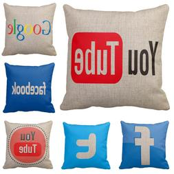 Pillow Case Cover Home Decor Cotton Cushion Sheet Cover With