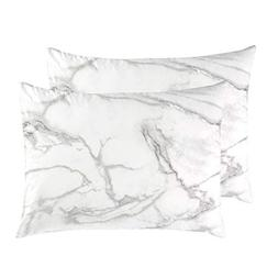 Wake In Cloud - Pack of 2 Pillow Cases, 100% Cotton Pillowca
