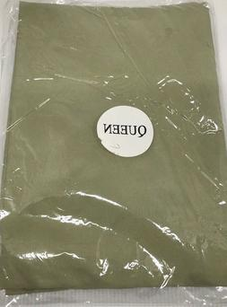 Pillow Cases Queen Size 1800 Series Sage Green Hypoallergeni