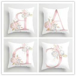 Pillow Cover Case 45x45cm Home Simple Decor for Sofa Bedroom