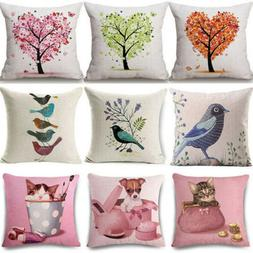 Pillow Home Cushion Cat Cases Sofa Covers Decor Pillow ''Dog