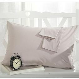 YAROO Pillowcase, Genuine Egyptian Cotton 300 Thread Count Q