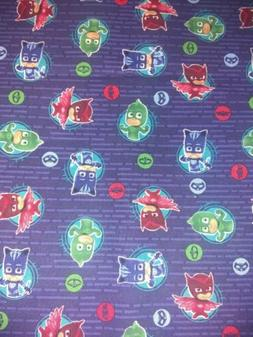 PJ masks  Pillow - Case or Crib sheet fitted toddler Blanket