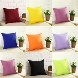 Plain Dyed Nonwoven <font><b>Pillow</b></font> Cover 100% Pe