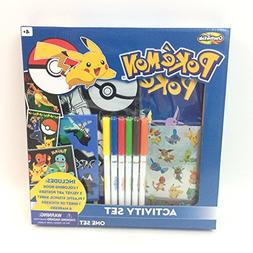 Creative Kids Pokemon Activity Set