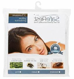 SafeRest Premium Hypoallergenic Bed Bug Proof Waterproof Pil