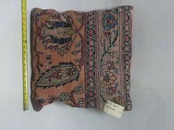 PWR.016-decorative antique rug pillow cover with zipper