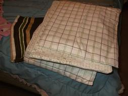 Queen size sheet set -  includes skirt,shams,pillow cases,fi