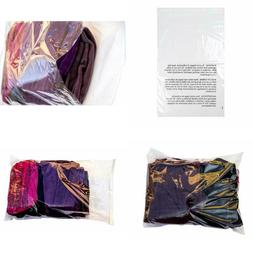 Retail Supply Co Clear Poly Bags With Suffocation Warning -