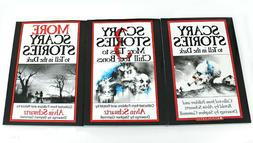 Scary Stories to Tell in the Dark SET of 3 books by Alvin Sc