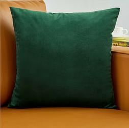 Set Of 2 Throw Pillow Case Cover   pay for 1, receive 2 soli