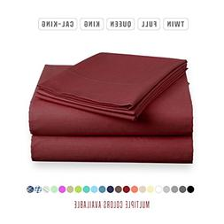 Luxe Bedding Sets - Microfiber Twin Sheet Set 3 Piece Bed Sh
