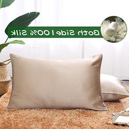 Ethereal Lomoer 100% Natural Pure Silk Pillowcase for Hair a