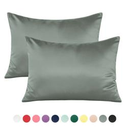 NTBAY Silky Satin Toddler Pillowcase 13 x 18, Travel Pillow