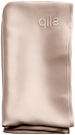 SLIP Pure Silk Pillowcase by Slipsilk - Caramel Beige - QUEE