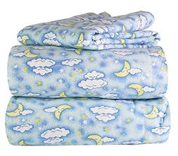 Piece 100% Soft Flannel Cotton Bed Sheet Set – Queen/King