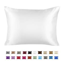 soft silky satin pillow case great