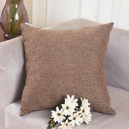 decoration linen square throw cushion