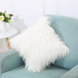 Standard Decorative Big Queen Size Pillow With Covers Cases