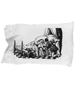 Standard Size Decorative Black and White Sleeping-Beauty-The