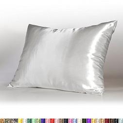 Sweet Pillowcases Dreams Luxury Satin Pillowcase With Zipper