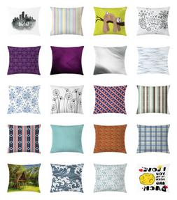 Throw Pillow Case Cushion Cover for Couch & Bed Decor by Amb