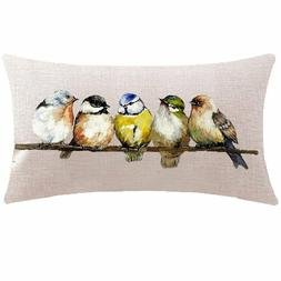 Throw Pillow Case Cushion Cover Rectangular Decorative Beddi