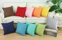 Throw Pillow Cases Covers for Couch Bed Sofa Vintage Stars P