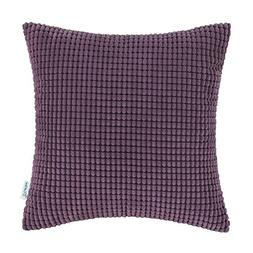 CaliTime Throw Pillow Cover Case for Couch Sofa Bed, Comfort