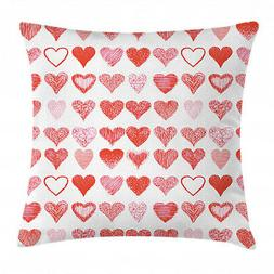 """Throw Pillow Decorative Cover Cushion Case with Zipper 16"""" 1"""