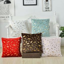 Throw Soft Pillow Case Bed Couch Rectangle Cushion Covers wi