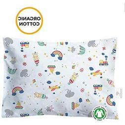Toddler Pillowcase - 100% GOTS Certified Organic Cotton Hypo