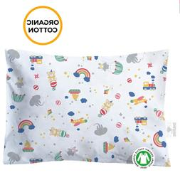 Toddler Pillowcase - 100% GOTS Certified Organic Cotton - Hy