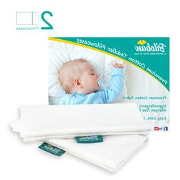 """Toddler Pillowcase Set of 2,Envelope Style,14""""X19"""" Fits for"""