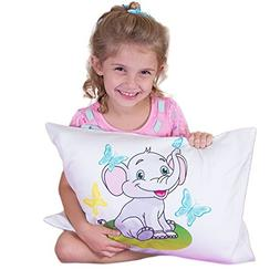 Toddler PILLOWCASE -100% Cotton-Machine washable-For 13x18 a